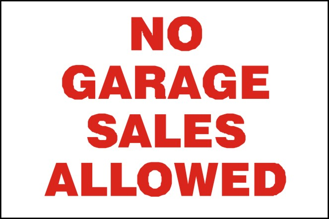 Aluminum Signs Self Storage Promotional Products